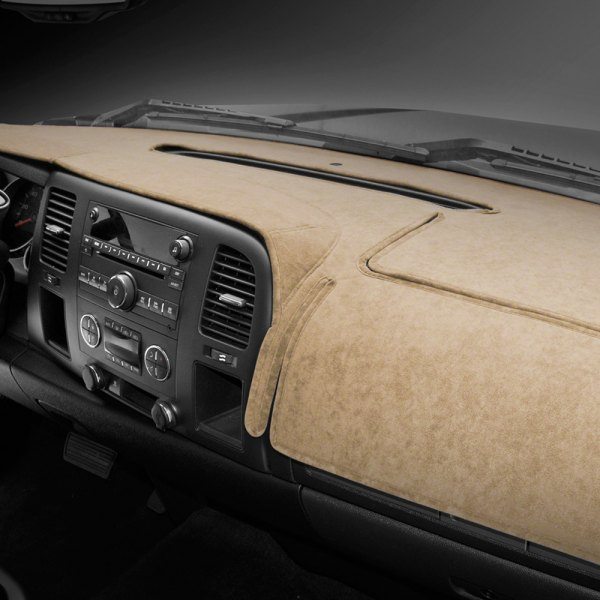 Coverking® - Tan Velour Custom Dash Cover