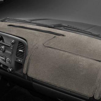 Coverking® - Velour Taupe Custom Dash Cover