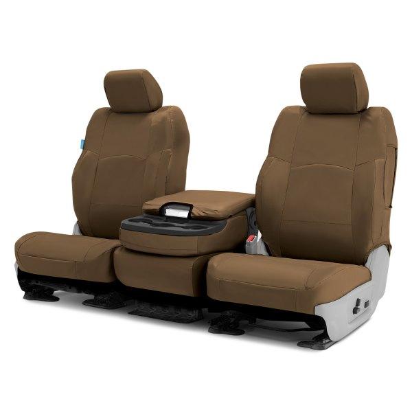 Coverking® - Cordura Ballistic 2nd Row Tan Custom Seat Covers