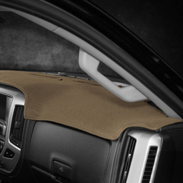 Coverking Custom Fit Dashcovers for Select Ford Mustang Models Black Poly Carpet