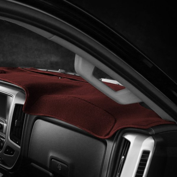 Coverking® - Polycarpet Red Custom Dash Cover