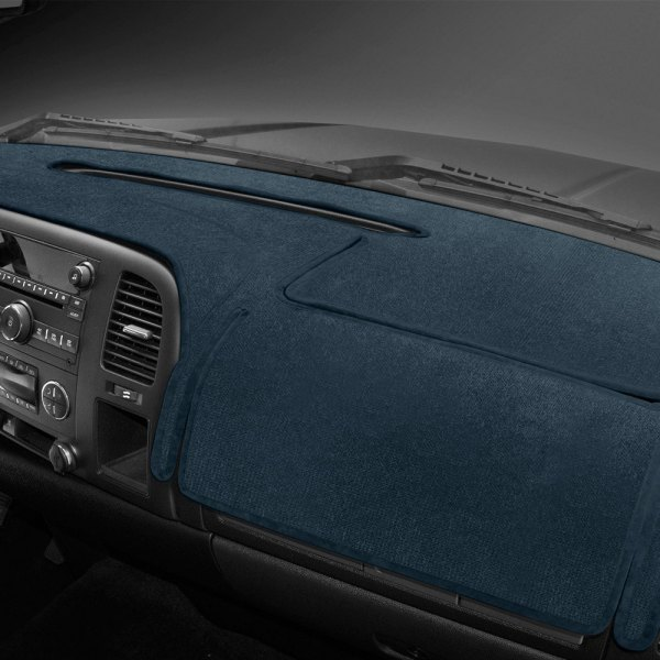 Coverking® - Velour Medium Blue Custom Dash Cover