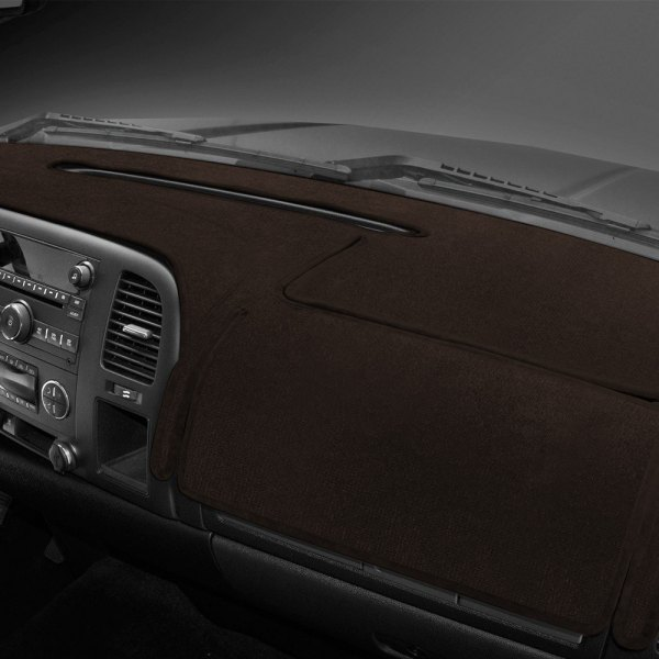 Coverking® - Velour Brown Custom Dash Cover