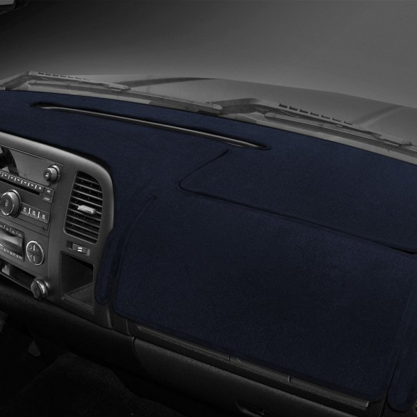 Coverking® - Velour Dark Blue Custom Dash Cover