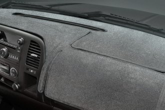 Coverking® - Velour Gray Custom Dash Cover