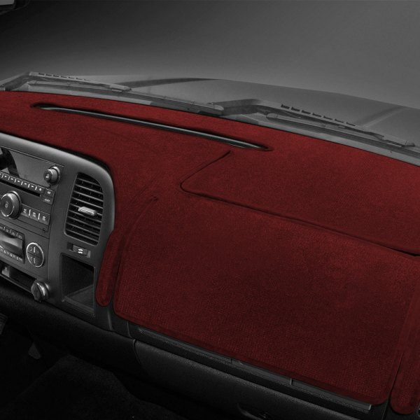Coverking® - Velour Red Custom Dash Cover