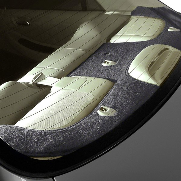 Coverking® - Polycarpet Black Custom Rear Deck Cover