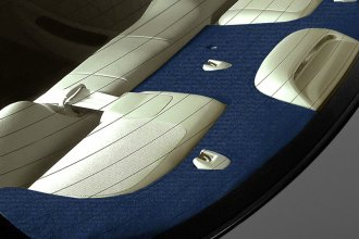 Coverking® - Dark Blue Polycarpet Custom Rear Deck Cover