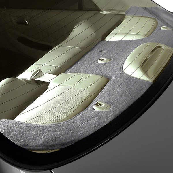 Image may not reflect your exact vehicle! Coverking® - Polycarpet Gray Custom Rear Deck Cover