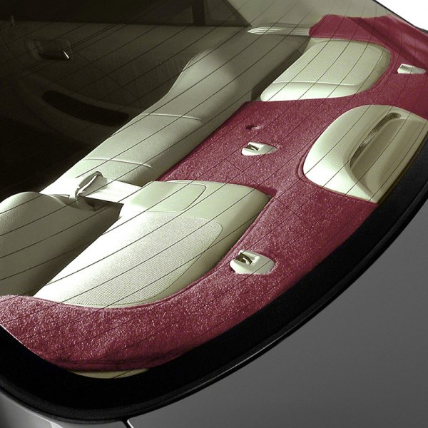 Coverking® - Red Polycarpet Custom Rear Deck Cover