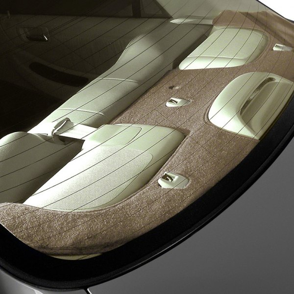 Image may not reflect your exact vehicle! Coverking® - Polycarpet Tan Custom Dash Cover
