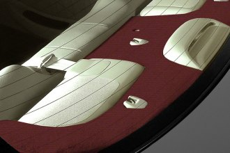 Coverking® - Polycarpet Wine Custom Rear Deck Cover