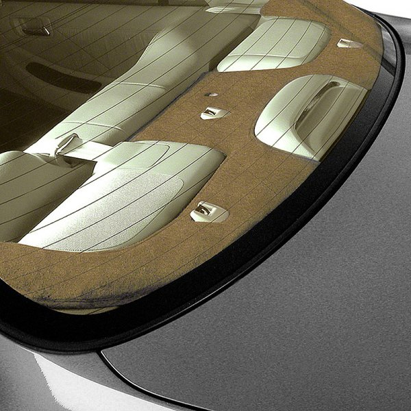 Coverking® - Suede Beige Custom Rear Deck Cover