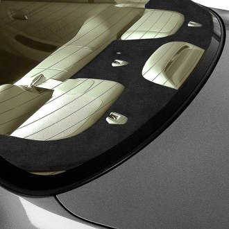 Coverking® - Black Suede Custom Rear Deck Cover