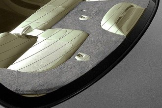 Coverking® - Gray Suede Custom Rear Deck Cover