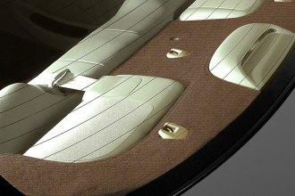 Coverking® - Brown Velour Custom Rear Deck Cover