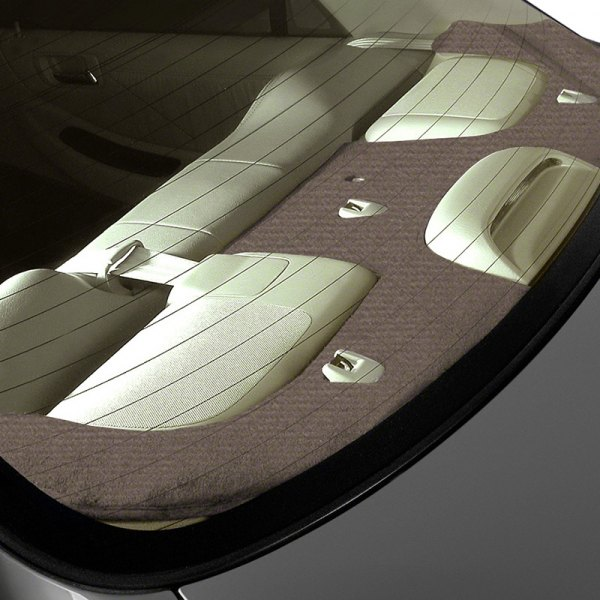 Image may not reflect your exact vehicle! Coverking® - Velour Oak Custom Rear Deck Cover