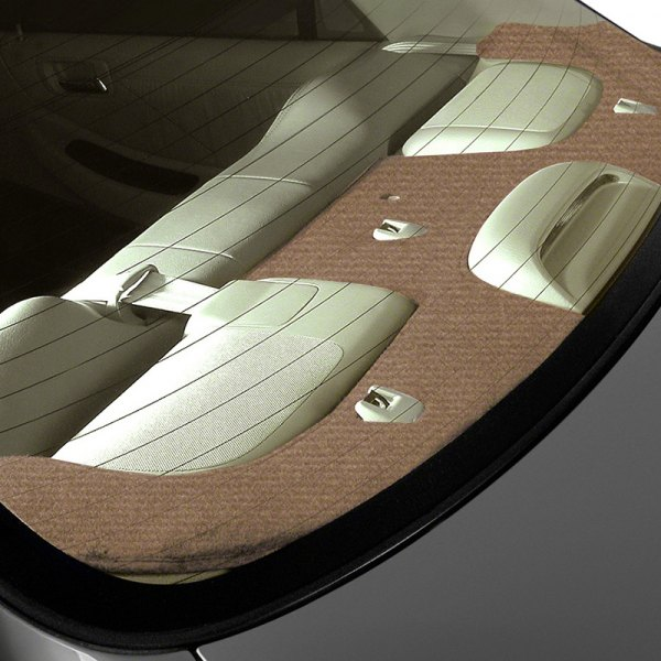 Coverking® - Tan Velour Custom Rear Deck Cover