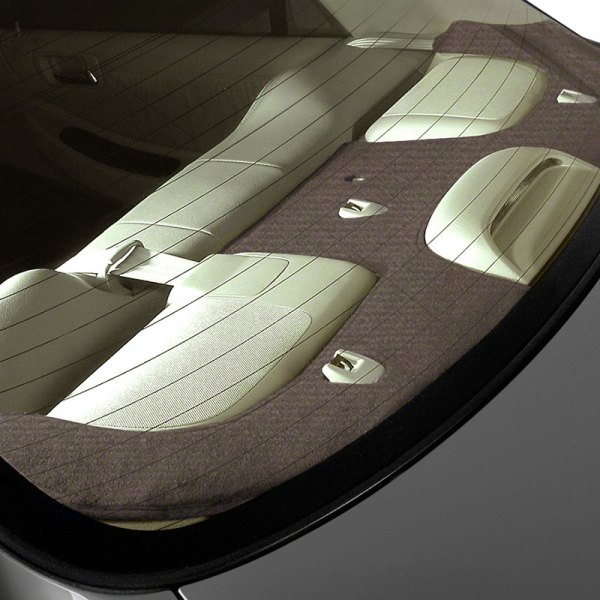 Coverking® - Velour Taupe Custom Rear Deck Cover