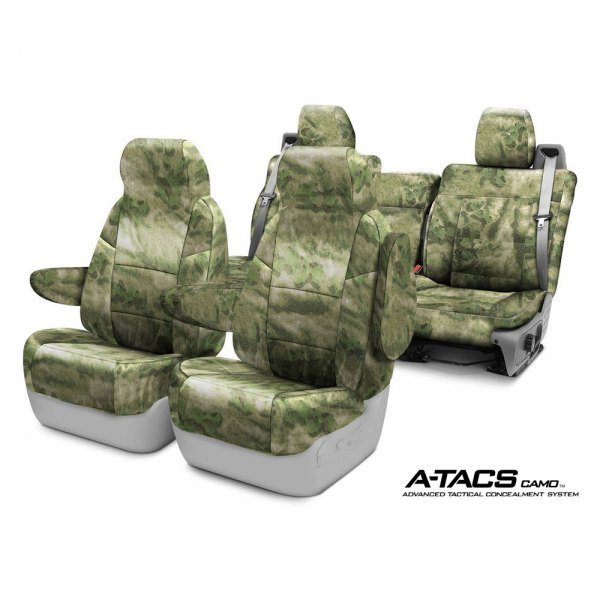 Coverking® - A-TACS Camo Cordura Ballistic Custom Seat Covers