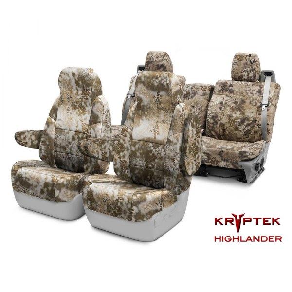 Coverking® - Kryptek™ Camo Custom Seat Covers