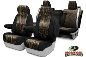 Image may not reflect your exact vehicle! Coverking® - Mossy Oak® Camo Custom Seat Covers