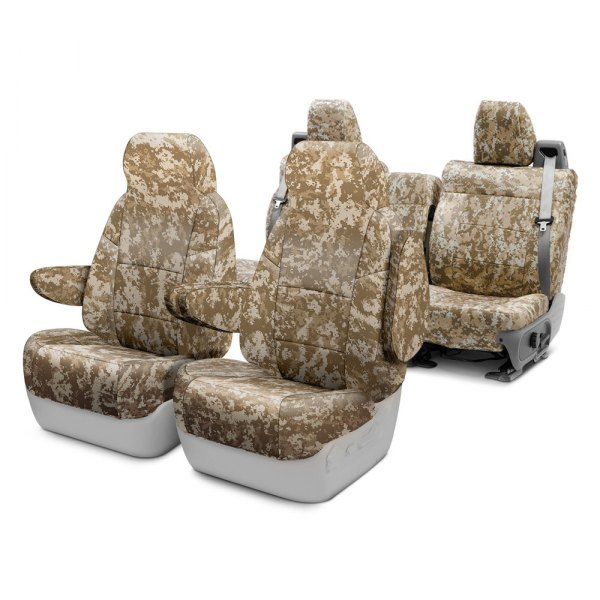 Coverking® - Traditional And Digital Camo Custom Seat Covers