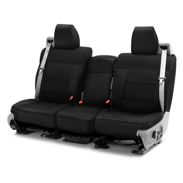 Coverking® - Cordura Ballistic 1st Row Black Custom Seat Cover