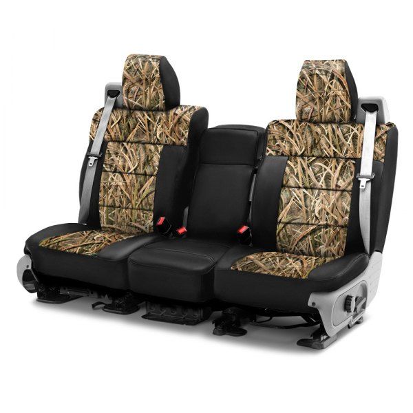 Coverking® - Mossy Oak™ 1st Row Two-Tone Shadow Grass Blades Custom Seat Covers
