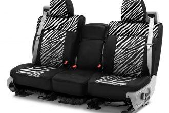 Coverking® CSC2PD16FD9640 - Neosupreme 1st Row Black & Zebra Custom ...