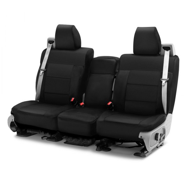 Image may not reflect your exact vehicle! Coverking® - CR-Grade Neoprene 1st Row Black Custom Seat Cover