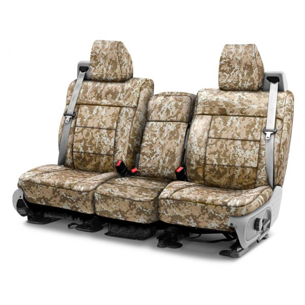 Coverking® - Digital 1st Row Sand Custom Seat Covers