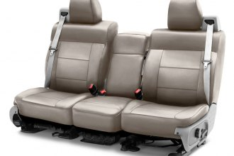 Coverking® - Premium Leatherette 2nd Row Cashmere Custom Seat Cover