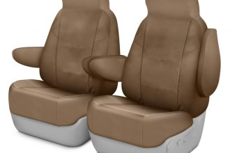 Coverking® - Cordura Ballistic 1st Row Tan Custom Seat Cover