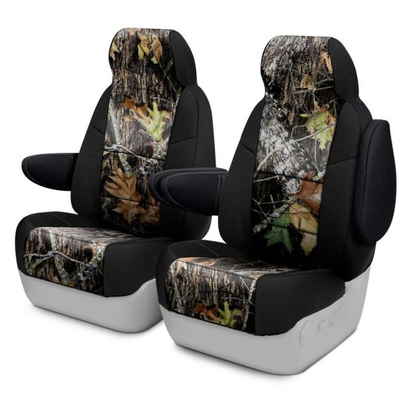 Coverking® - Mossy Oak™ 1st Row Two-Tone Break Up Custom Seat Covers