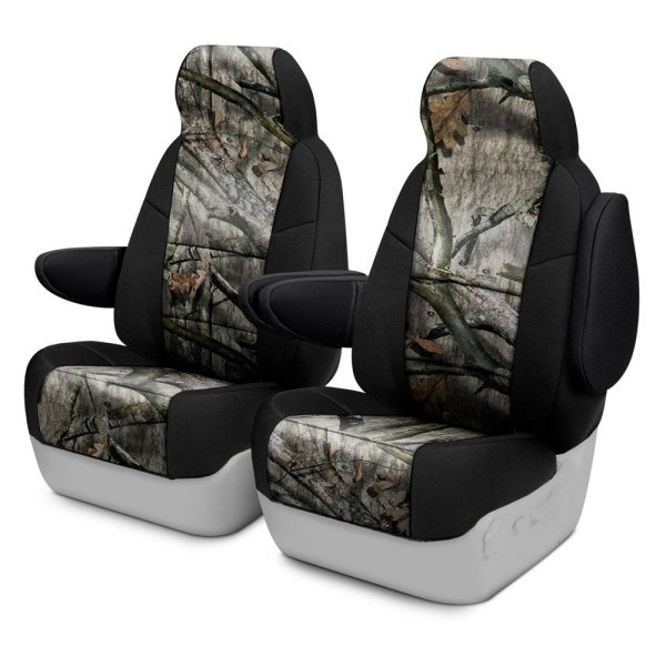 Coverking® - Mossy Oak™ 1st Row Two-Tone Treestand Custom Seat Covers