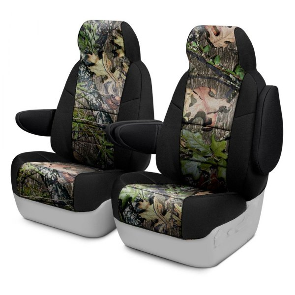 Coverking® - Mossy Oak™ 1st Row Two-Tone Obsession Custom Seat Covers