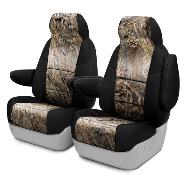 Coverking® - Mossy Oak™ 1st Row Two-Tone Duck Blind Custom Seat Covers