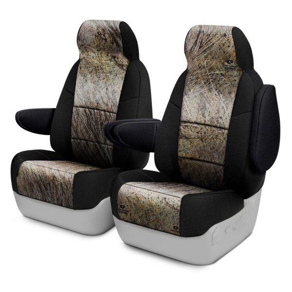 Coverking® - Mossy Oak™ 1st Row Two-Tone Brush Custom Seat Covers