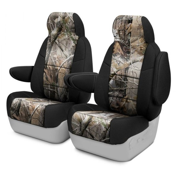 Coverking® - Realtree™ 1st Row Two-Tone AP Custom Seat Covers