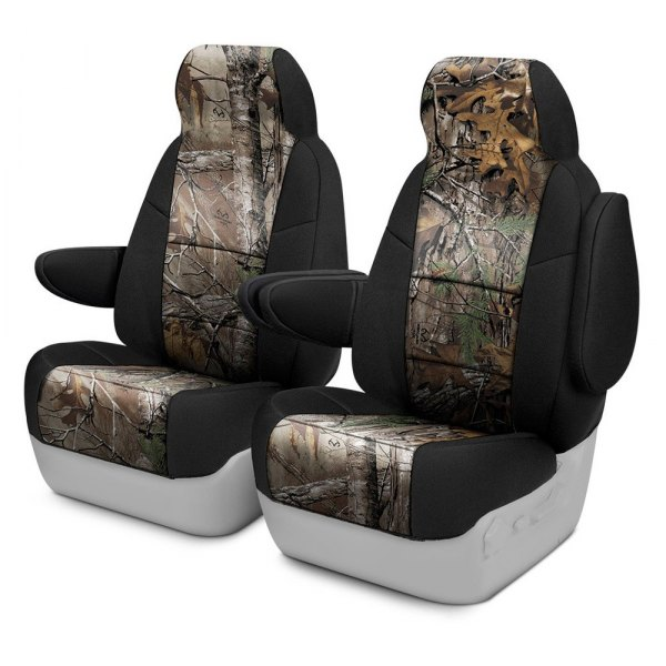 Coverking® - Realtree™ 1st Row Two-Tone Xtra Custom Seat Covers