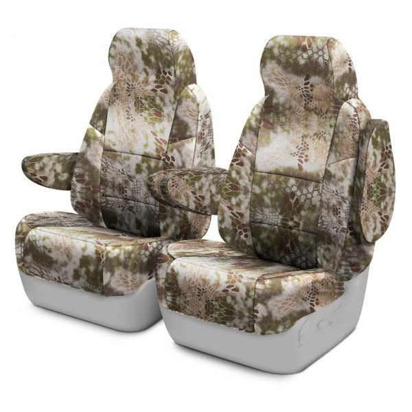Coverking® - Kryptek™ 1st Row Highlander Custom Seat Covers