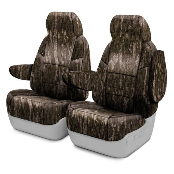 Coverking® - Mossy Oak™ 1st Row Bottomland Custom Seat Covers