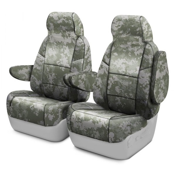 Coverking® - Digital 1st Row Jungle Custom Seat Covers