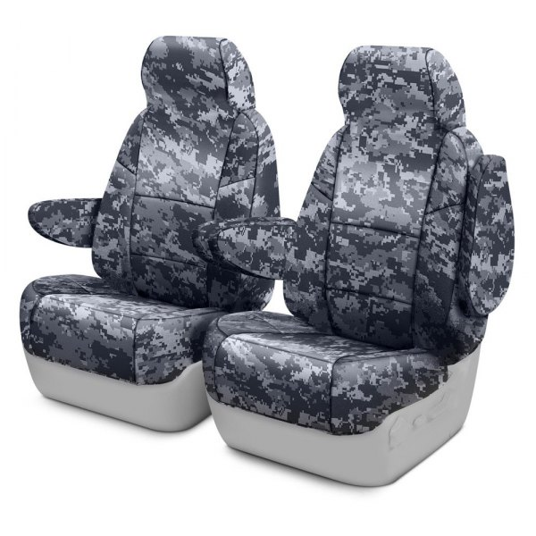 Coverking® - Digital 1st Row Urban Custom Seat Covers