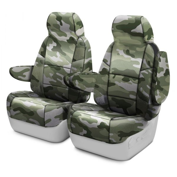 Coverking® - Traditional 1st Row Jungle Custom Seat Covers