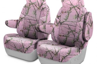 Coverking® - Realtree™ 1st Row AP Pink Custom Seat Covers