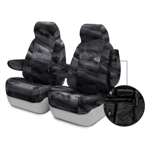 Coverking® - A-TACS™ 1st Row Tactical Camo Law Enforcement Custom Seat Covers