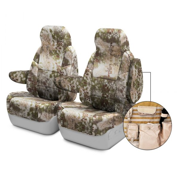 Coverking® - Kryptek™ 1st Row Tactical Camo Highlander Custom Seat Covers