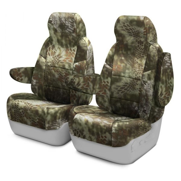 Coverking® - Kryptek™ 1st Row Tactical Camo Mandrake Custom Seat Covers